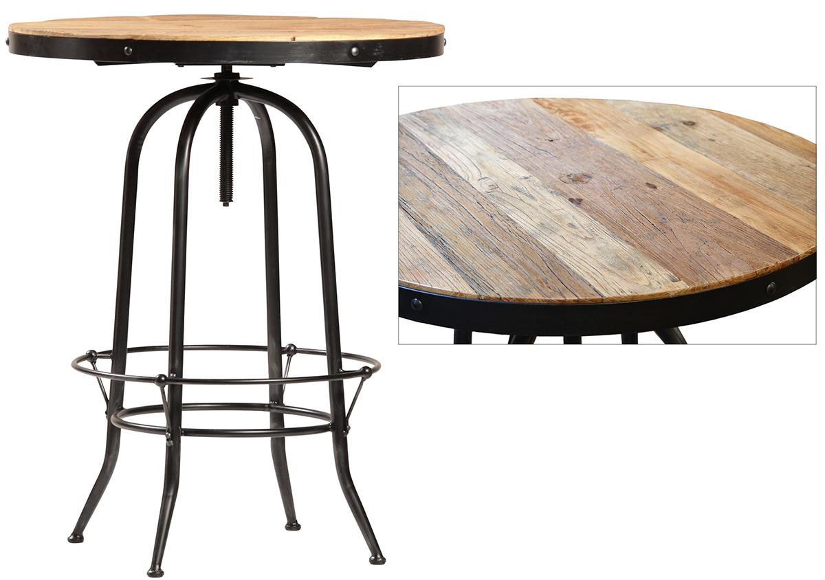 Ford Metal Wood Bar Table Terra Nova Designs
